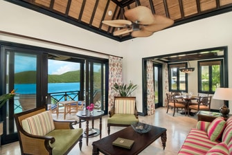 BVI Luxury Villa Living Room