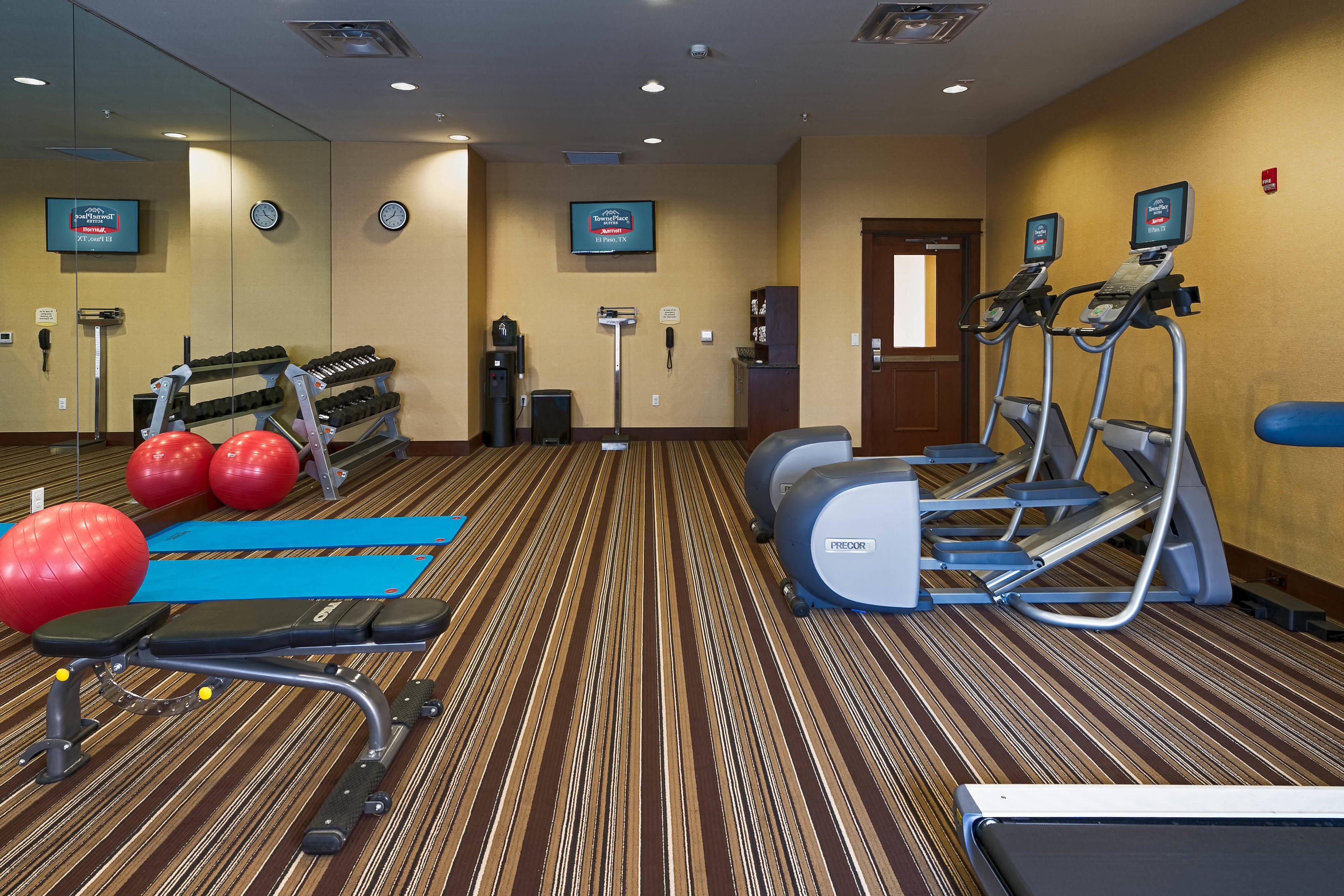 El Paso Texas Hotel Gym