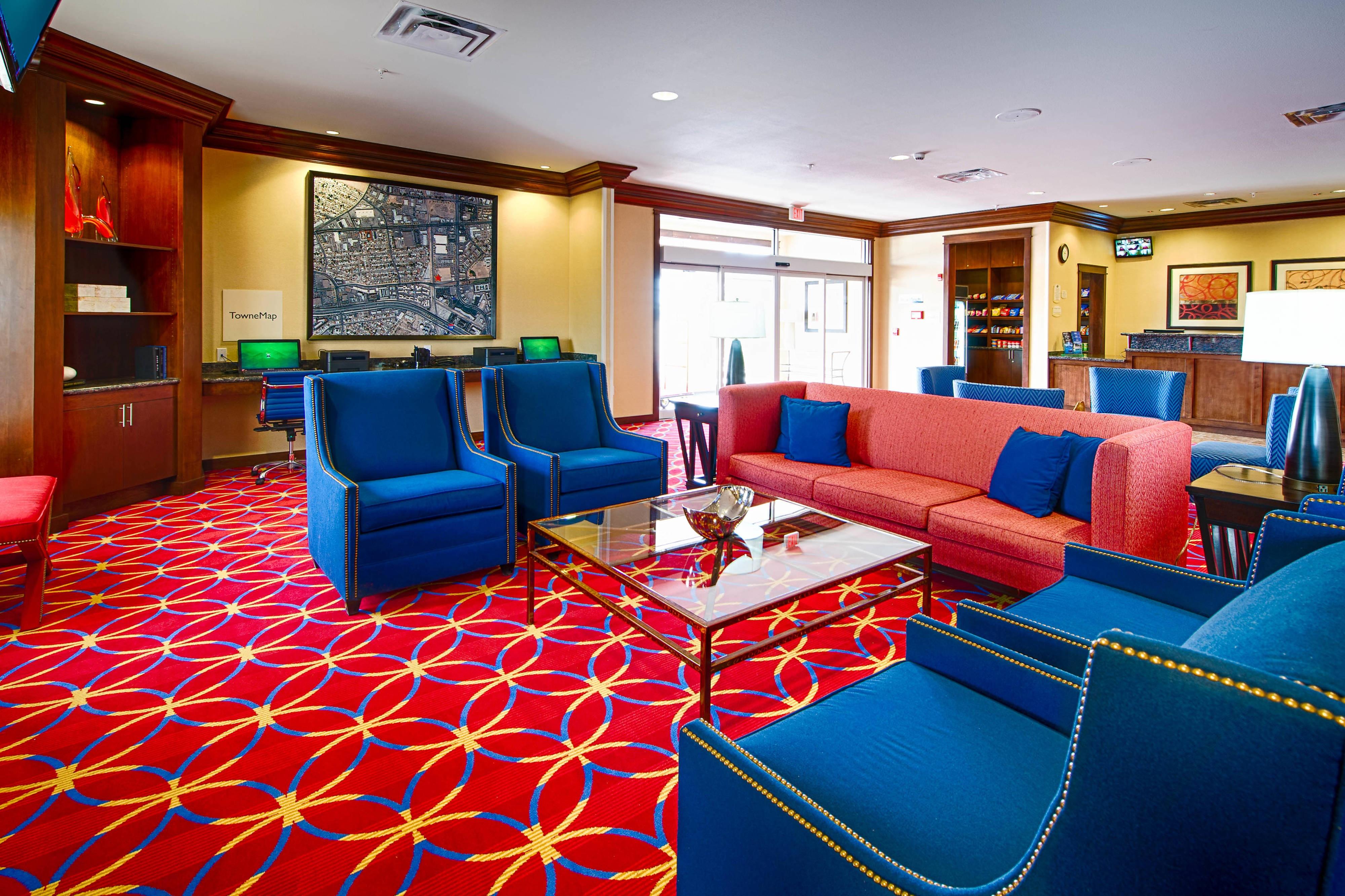 El Paso Airport Hotel Lobby