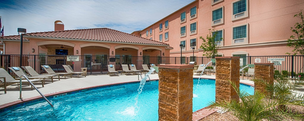Outdoor Hotel Pool El Paso