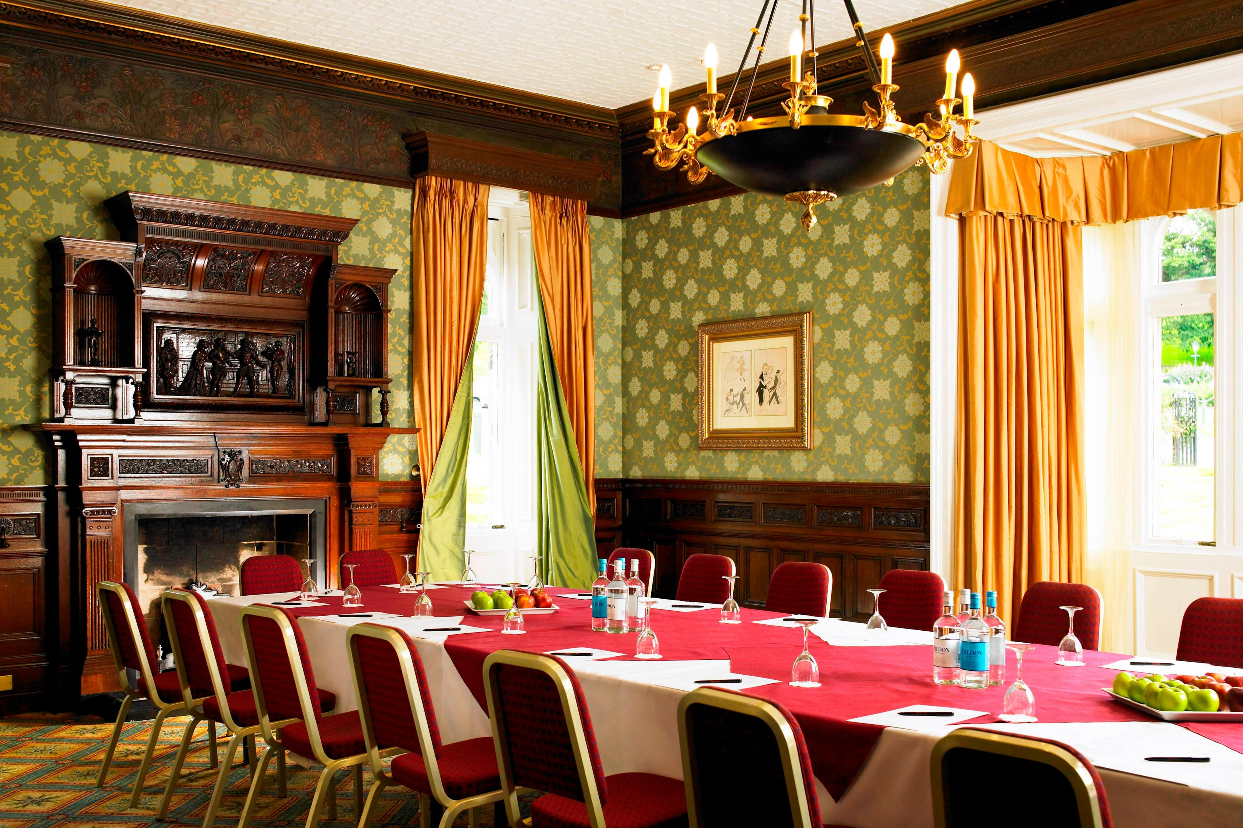 Boardroom at Breadsall Priory