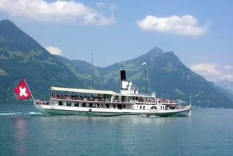 Cruising on Lake Lucerne