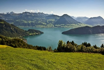 Mount Pilatus & Mount Titlis Scenic Views