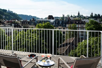 Suite Penthouse Junior, terrasse