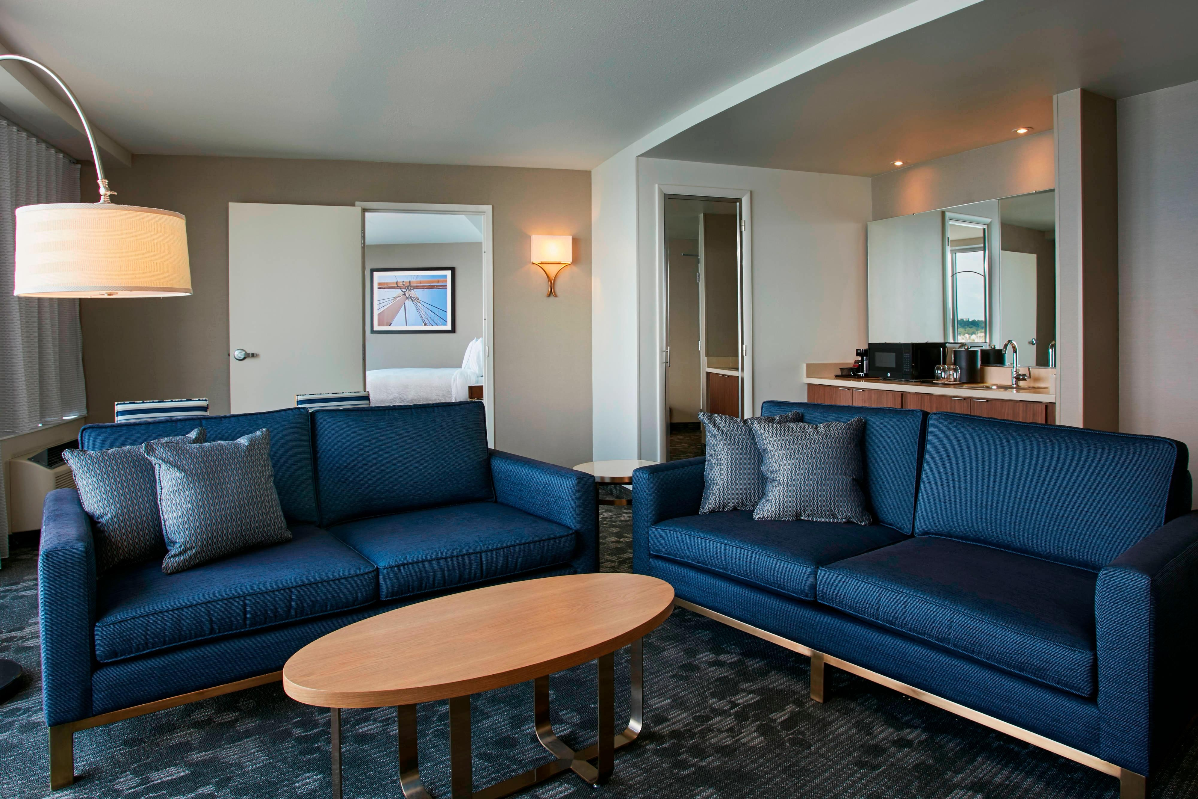 Sunset Suite Living Room