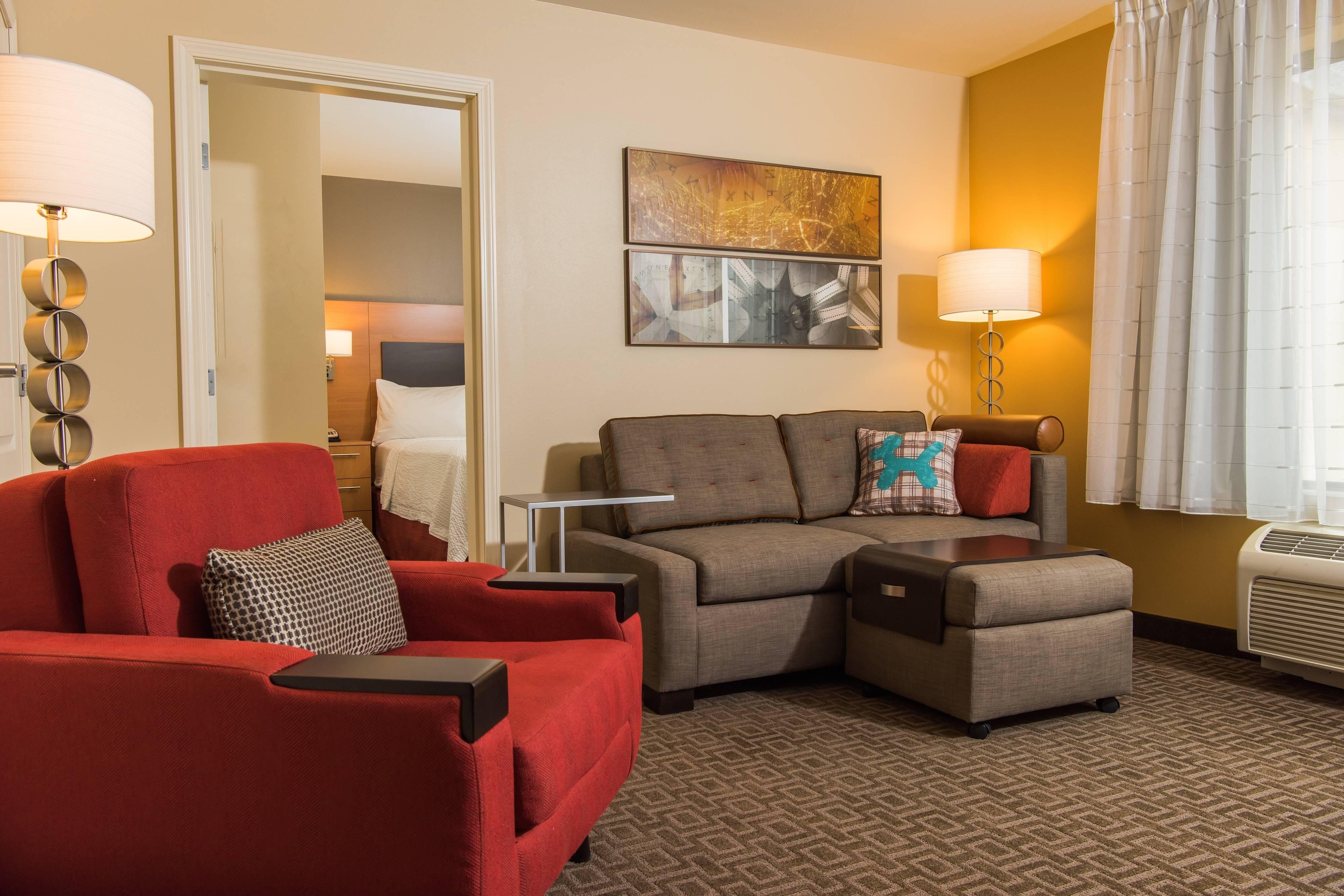 Suíte com um quarto - Área de estar