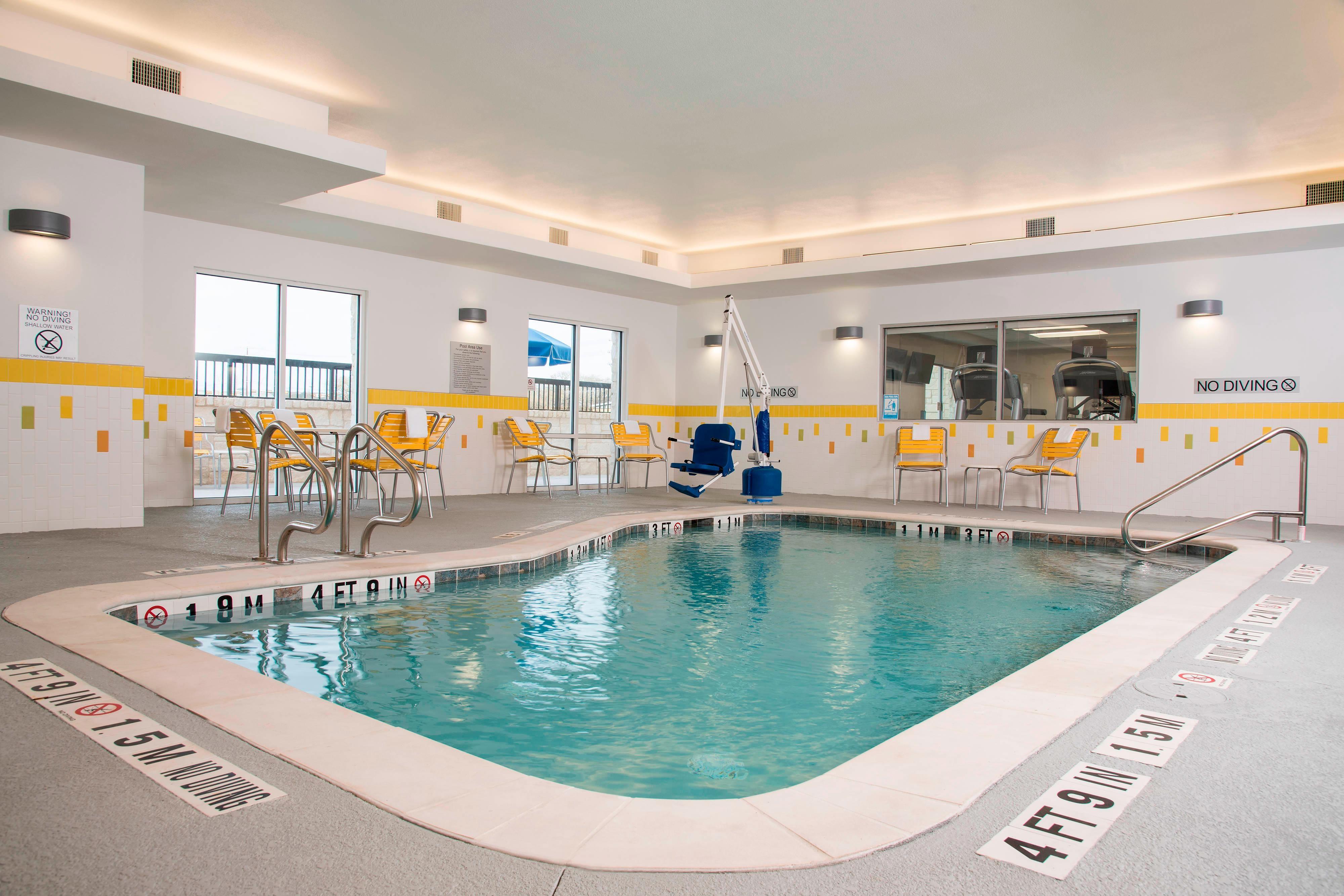 Fairfield Inn & Suites Fredericksburg Indoor Pool