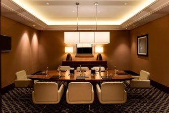 Executive lounge in Ankara hotel