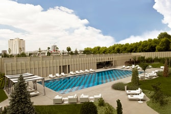 Ankara hotel outdoor pool