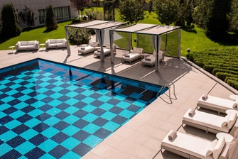 Ankara hotel with outdoor pool