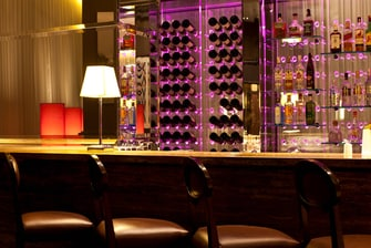 Steakhouse bar in Ankara hotel