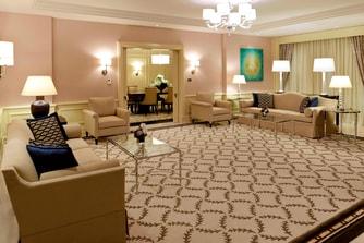 Ankara, Turkey hotel suite