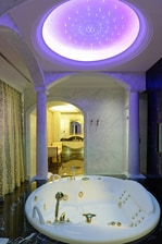 Luxury Ankara hotel suite bathroom