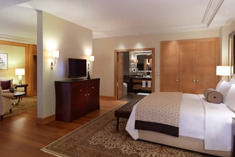 Luxury Ankara hotel room