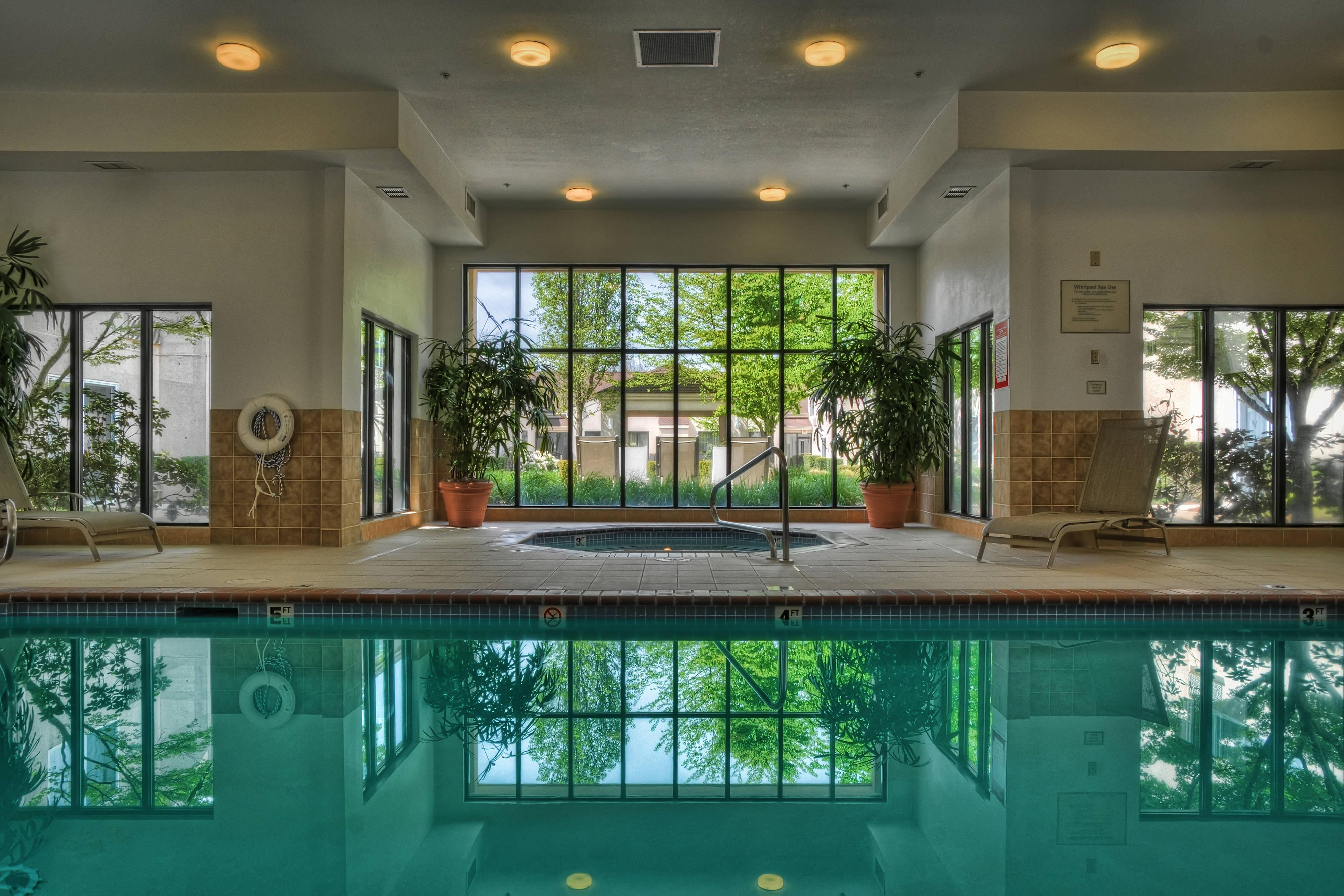 Eugene Hotel Indoor Pool