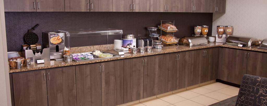Kostenloses Frühstück in Hotel in Eugene