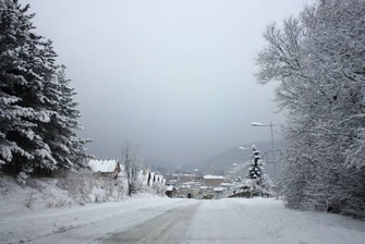 Tsaghkadzor in Winter