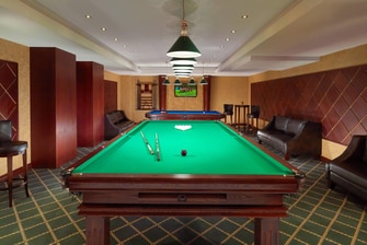 Play Billiard in Tsaghkadzor hotel