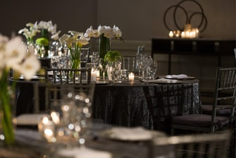 Formal Event Table Setting