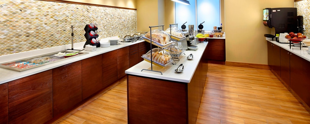 Complimentary hot breakfast buffet Secaucus