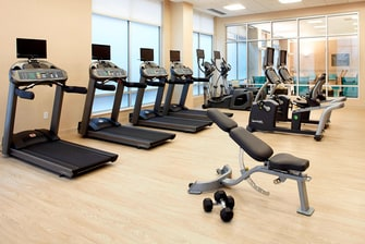 New Fitness Center Secaucus Hotel