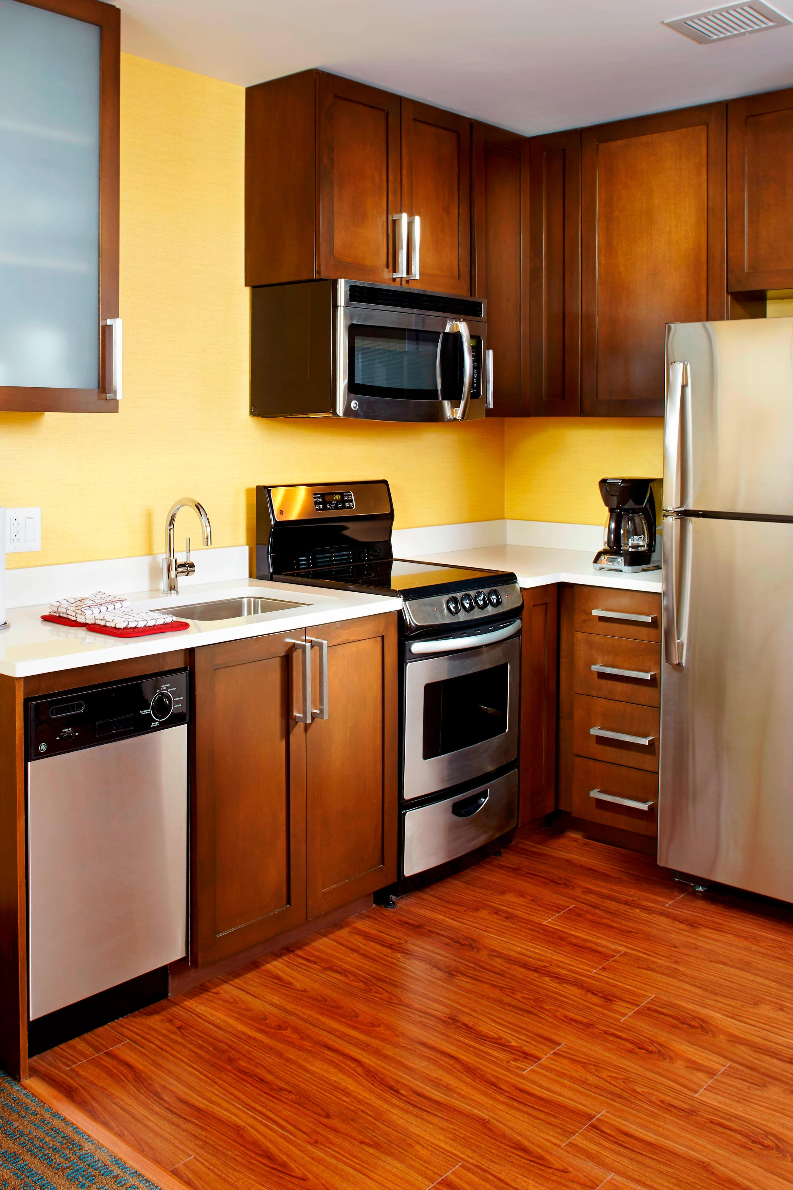 Residence Inn Fully Equipped Kitchen