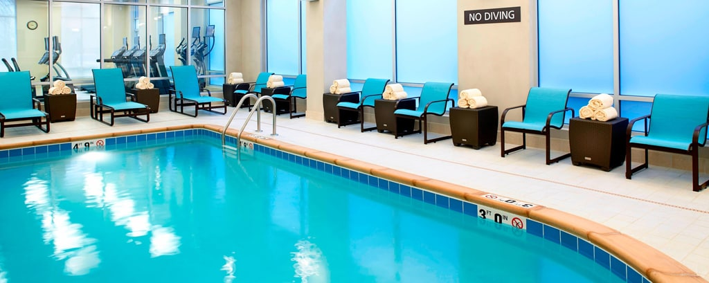 Indoor Pool Residence Inn Secaucus