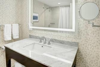 Bathroom Vanity with Tub Shower