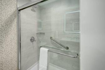 Bathroom Vanity with Shower
