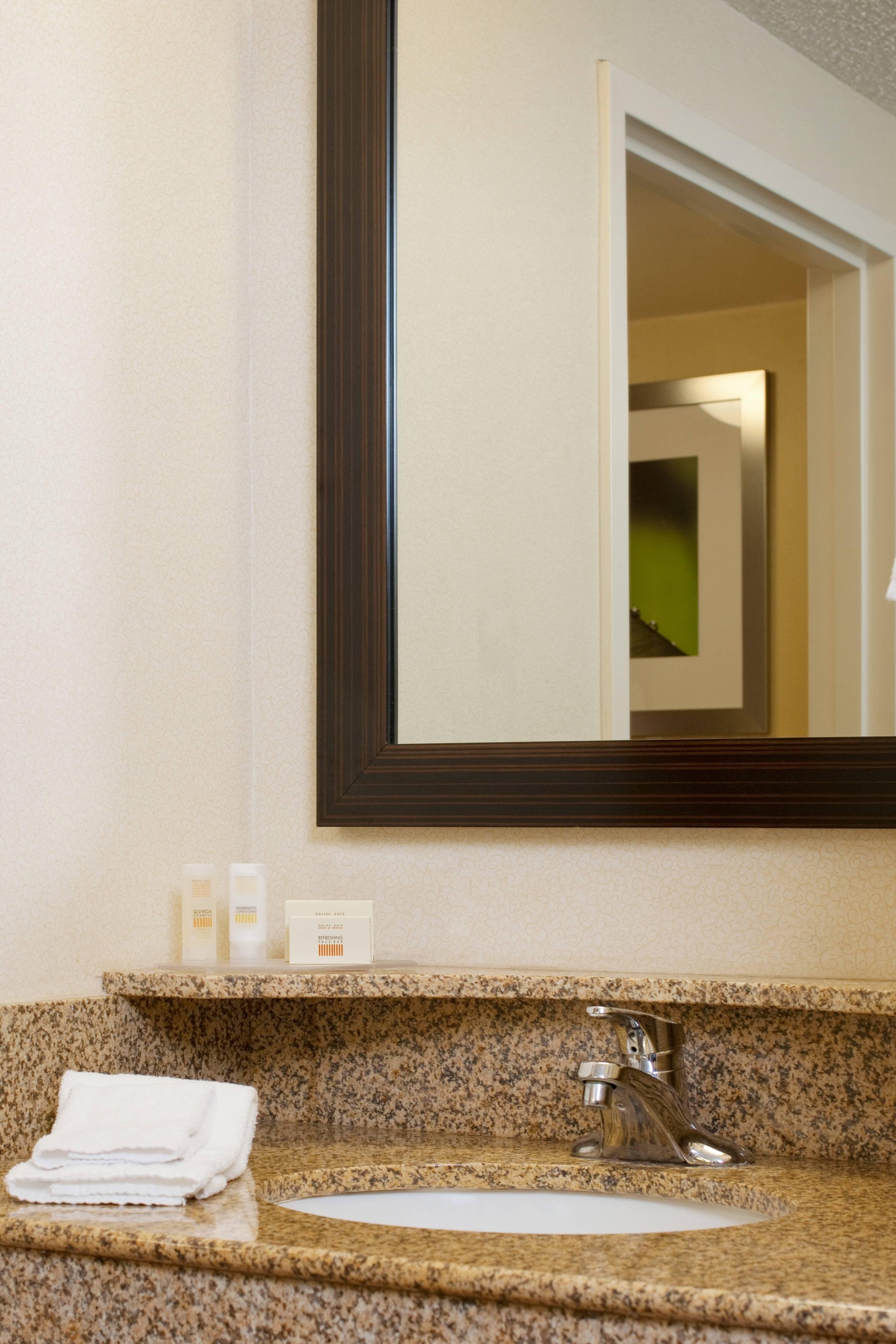 Newark Elizabeth NJ Hotel Guest Bathroom