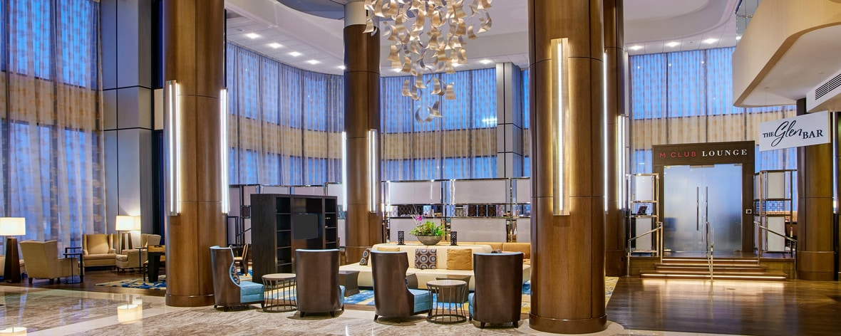 Lobby, M Club Lounge, Glen Bar