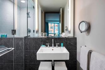 Guest Bathroom Standing Shower