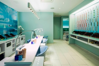 Bliss Spa Nail Area