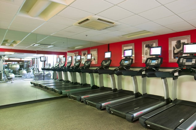 Hanover NJ hotel fitness center