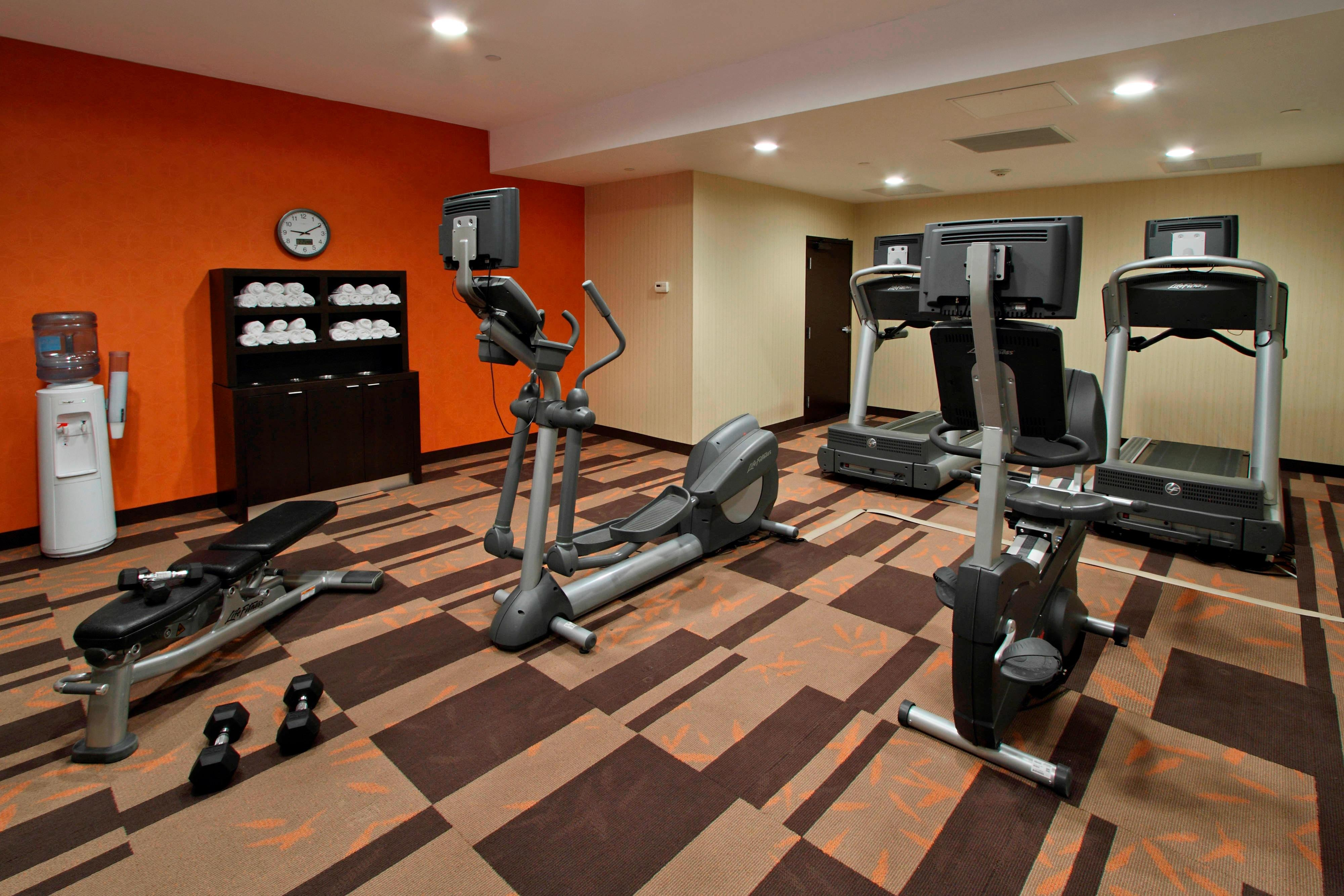 Mt Arlington hotel fitness center