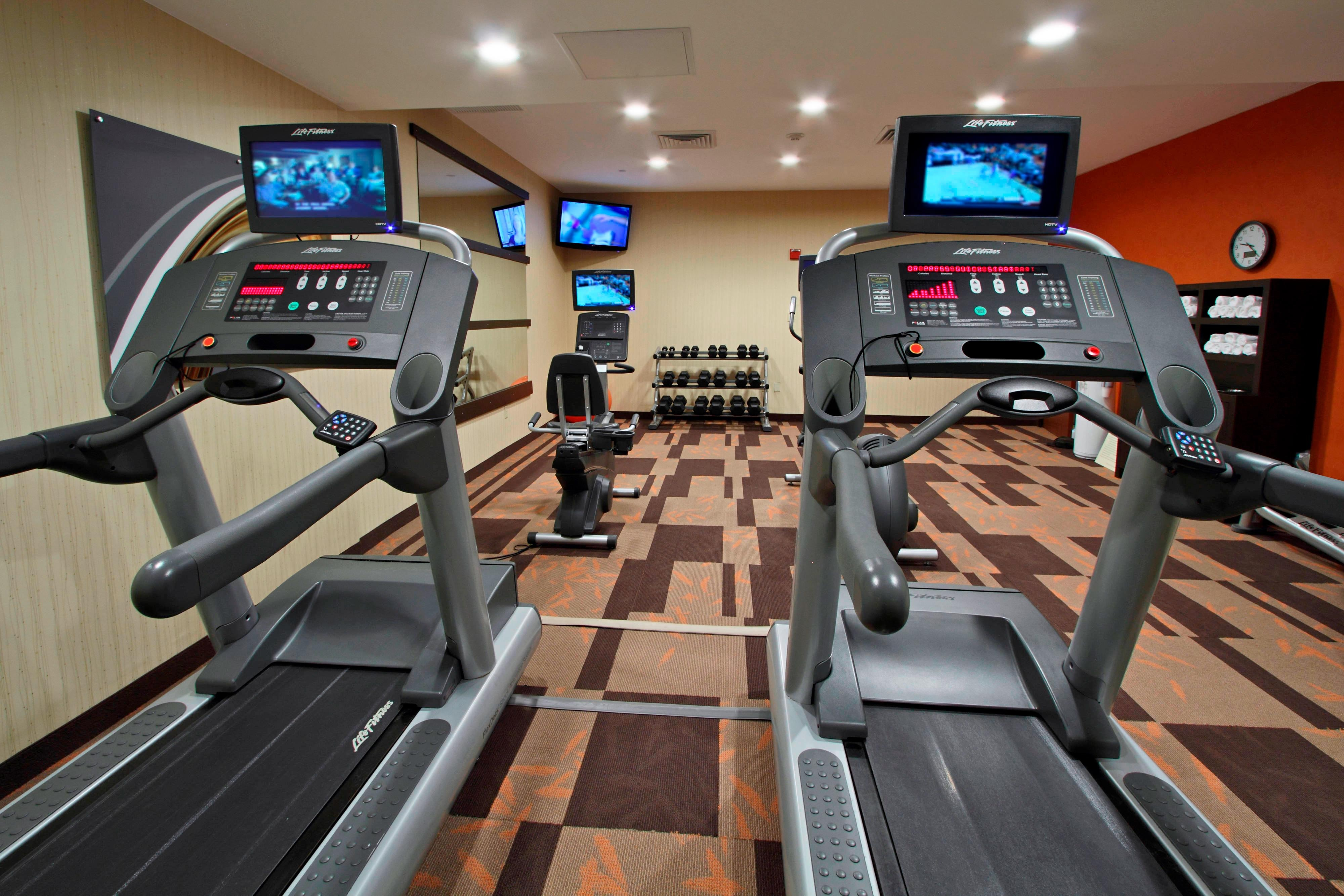 Rockaway hotel fitness center