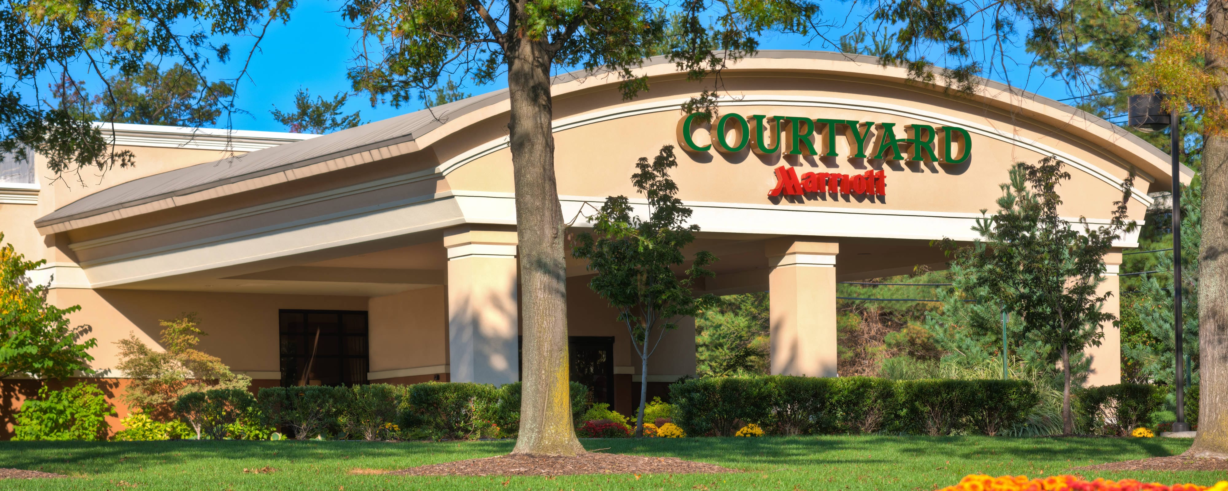 how to get to courtyard montvale map of montvale rh marriott com