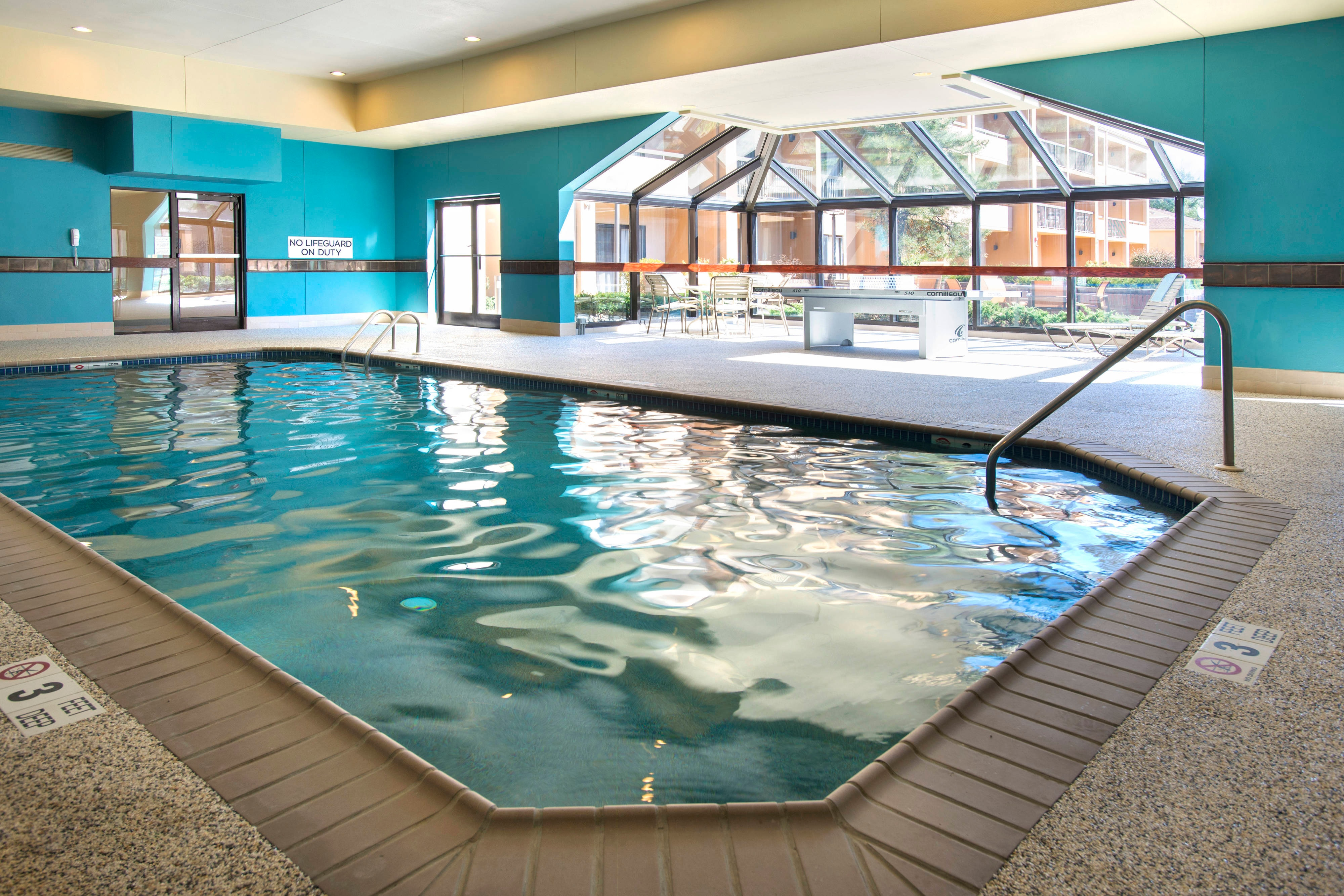Indoor Pool & Ping Pong Table