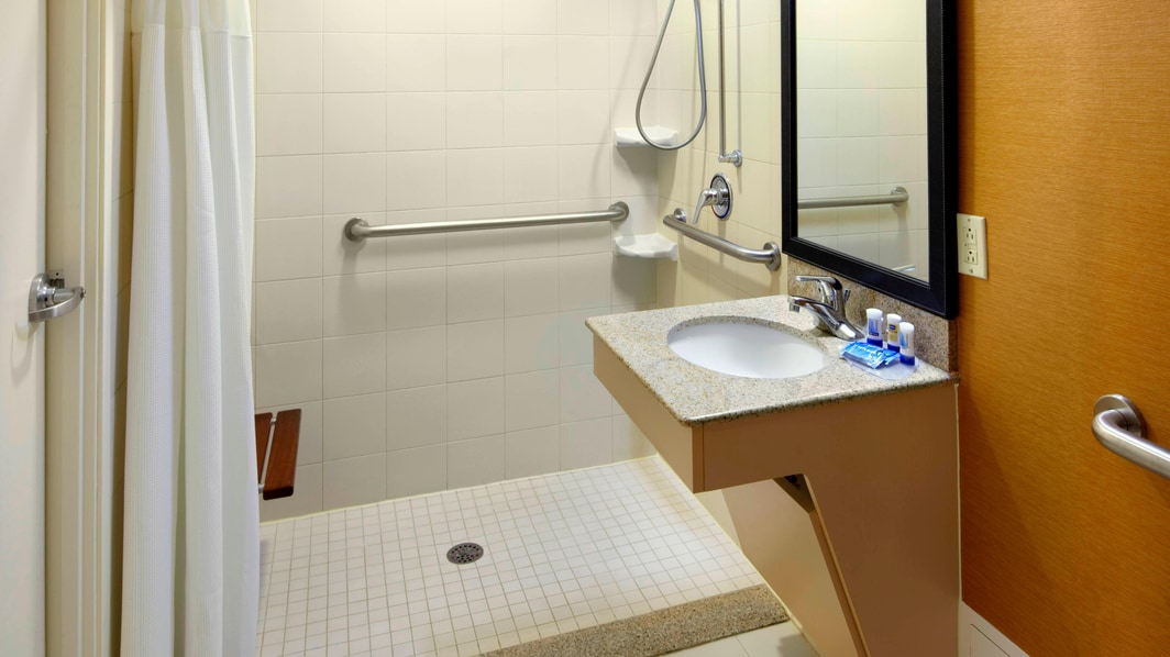Accessible Guest Bathroom Parsippany