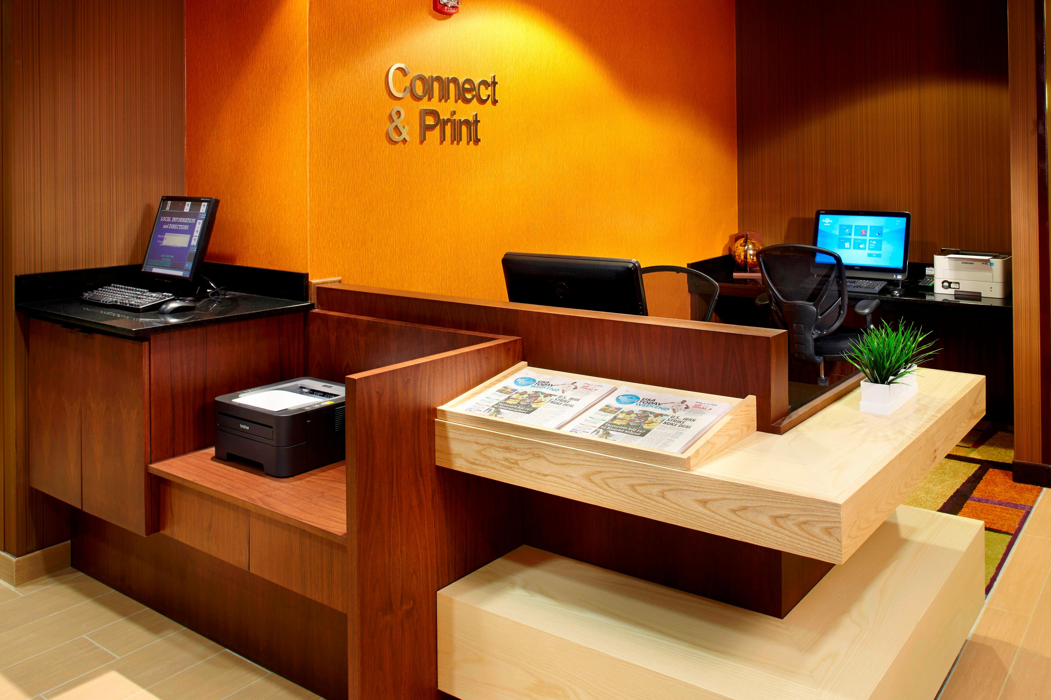 Business Center Parsippany Hotel