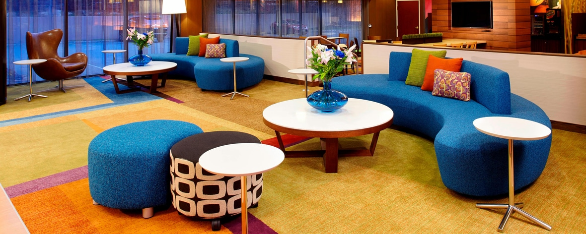 Lobby del Fairfield Inn & Suites Parsippany