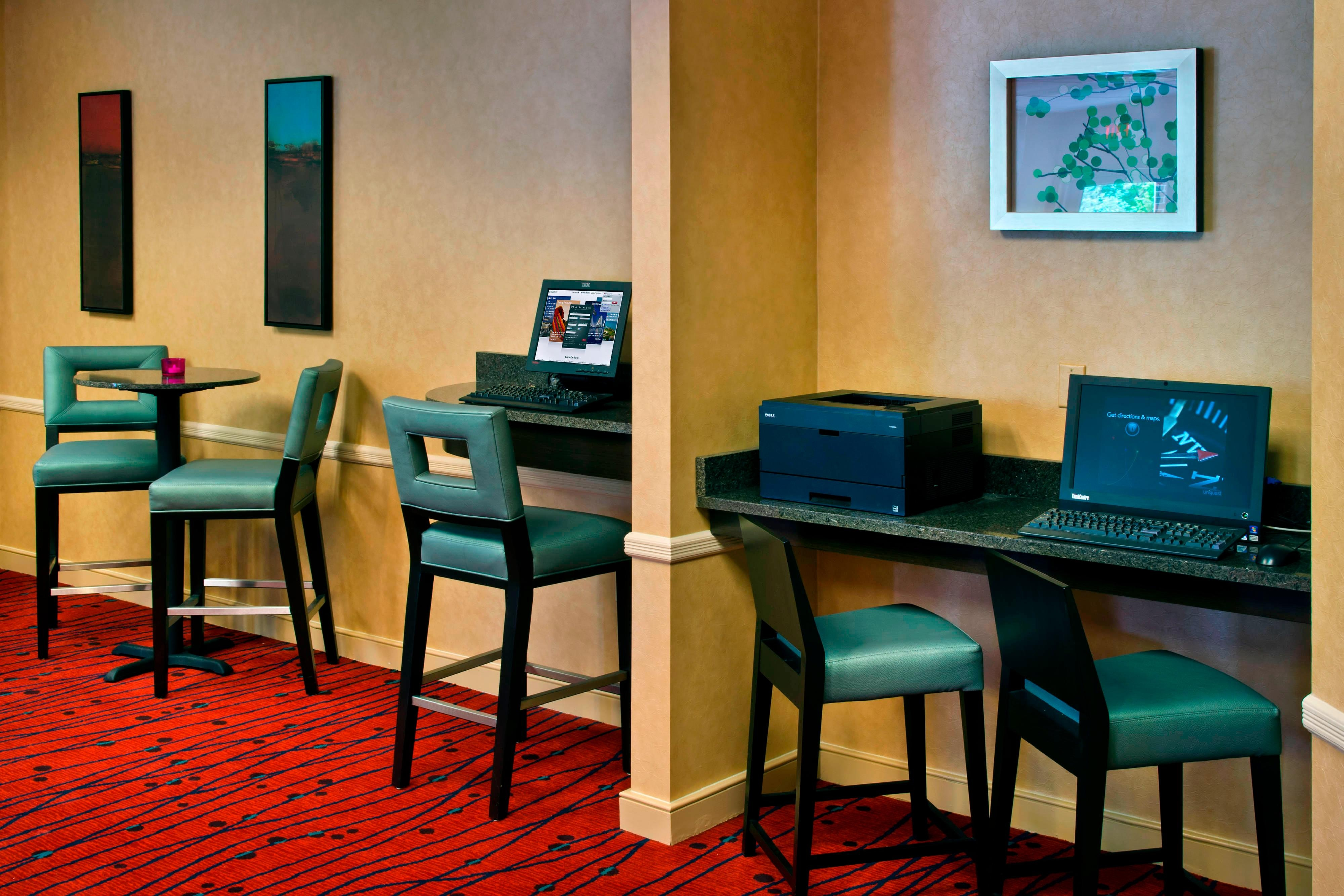 Parsippany NJ Hotel Business Center