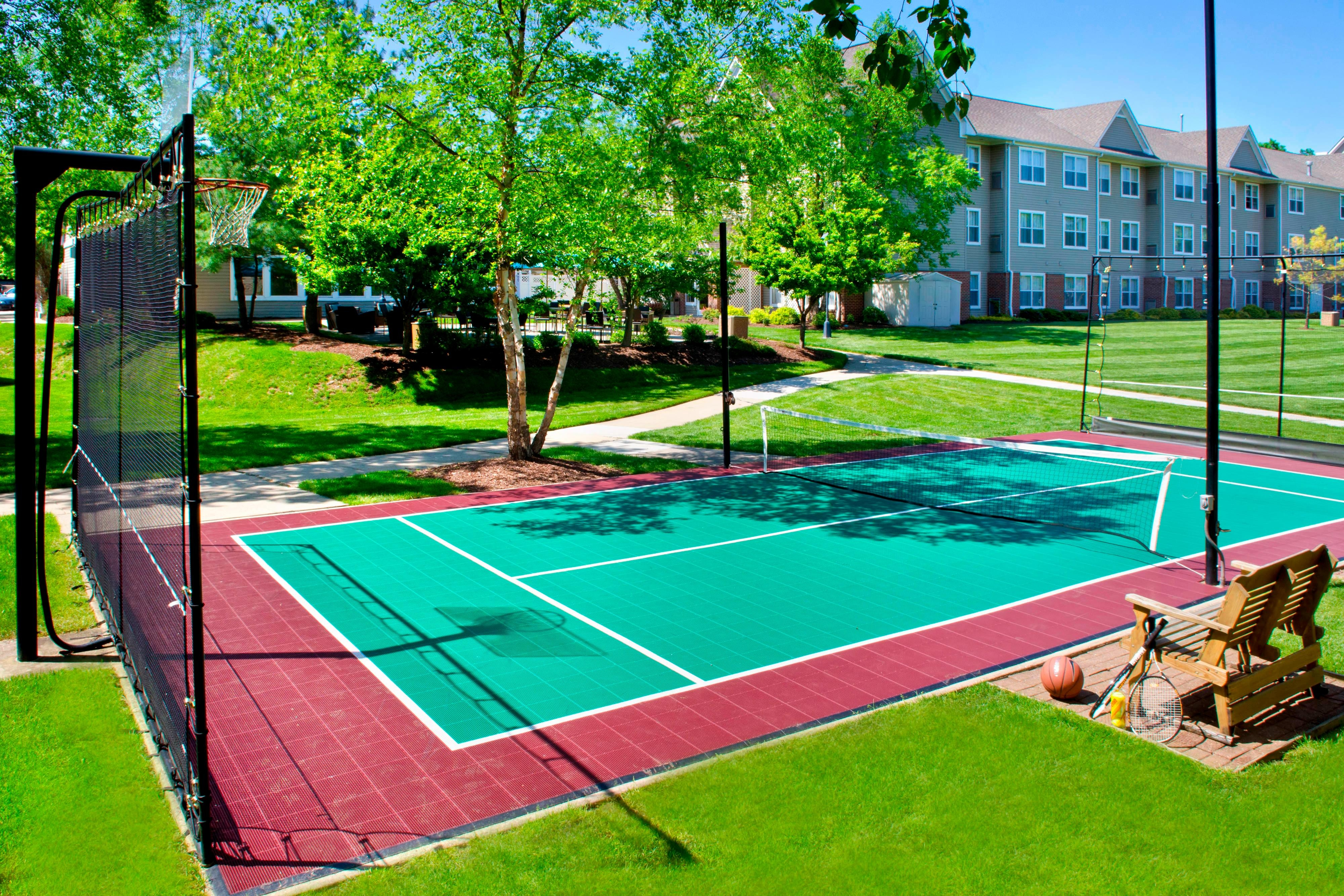 Parsippany NJ Hotel Outdoor Sport Court