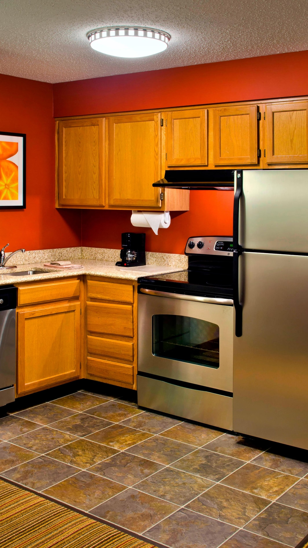 Parsippany NJ Hotel Suite Kitchen