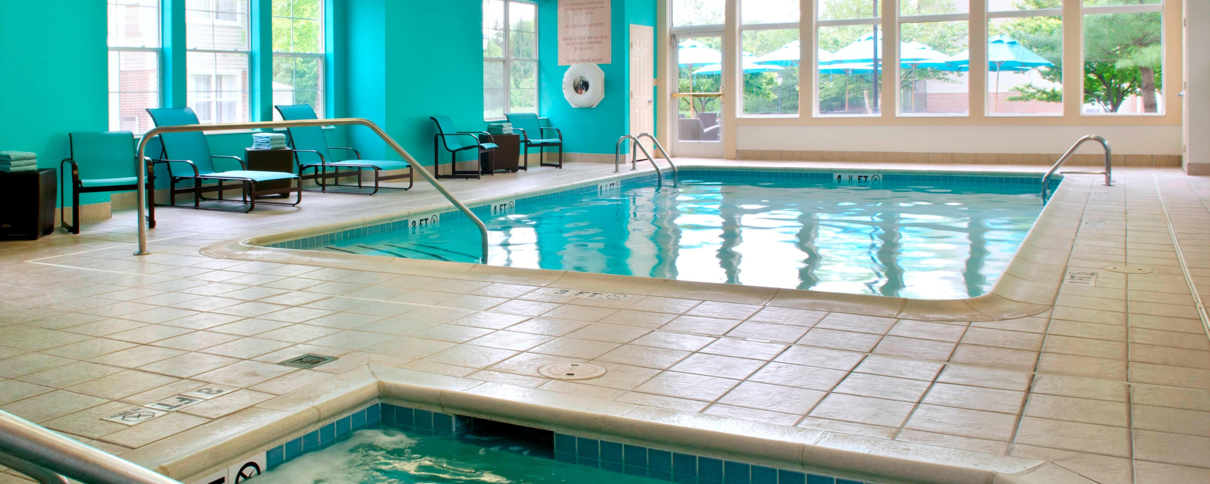 Parsippany NJ Hotel Indoor Pool