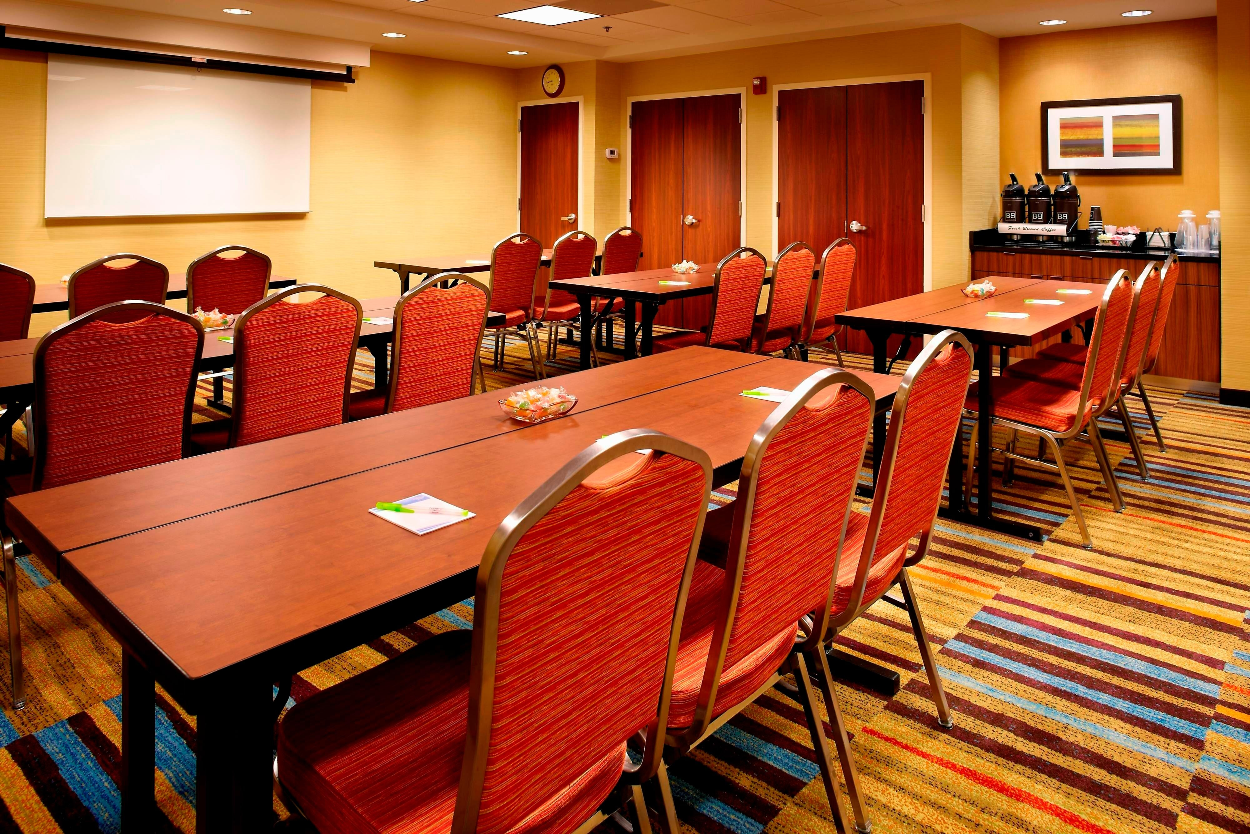Hotel Meeting Room Classroom Style