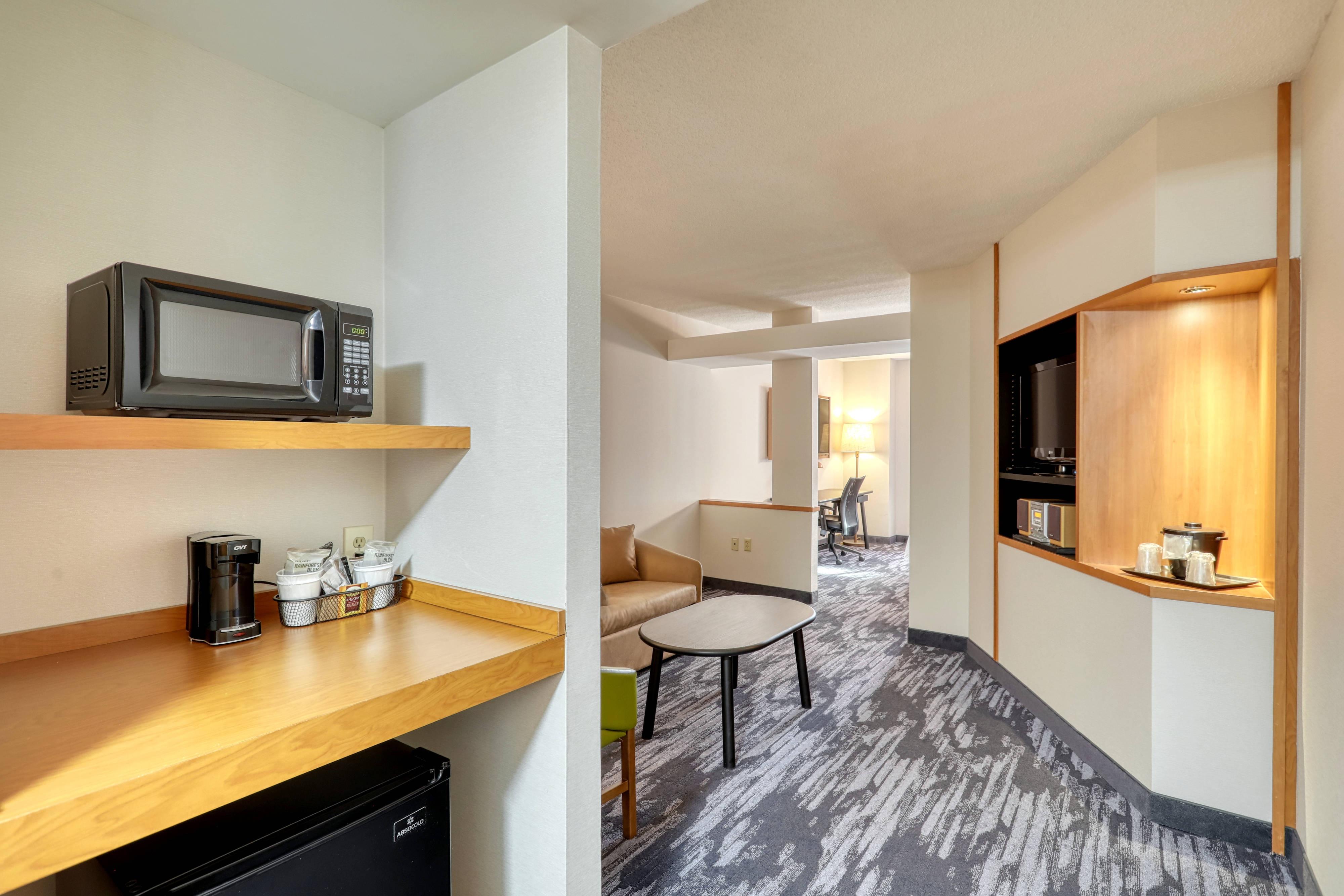 Suite Executive avec lit king size - Espace séjour