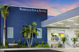 Fairfield Inn & Suites Key West at The Keys Collection entrance