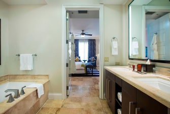 Master Bathroom in suites