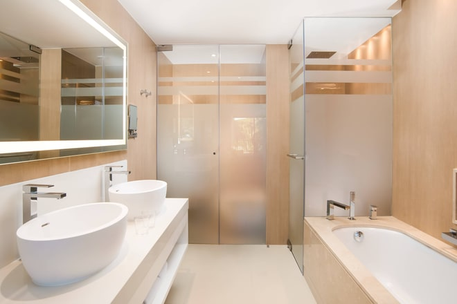 Premium Ocean Suite - Bathroom
